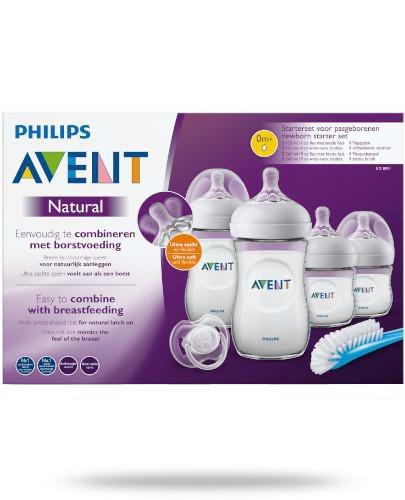 Avent Philips Natural zestaw startowy dla noworodków 1 sztuka [SCD301/01]