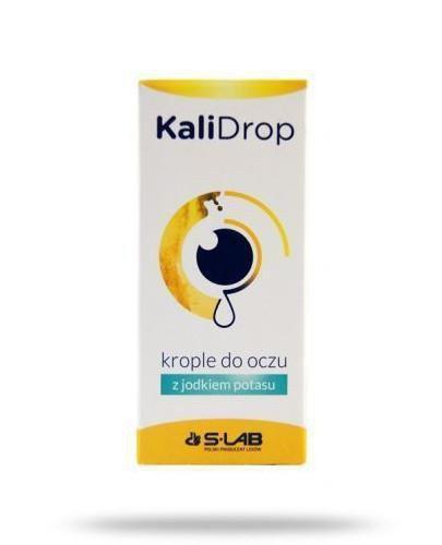 KaliDrop krople do oczu z jodkiem potasu 10 ml