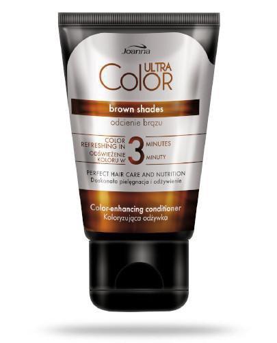 Joanna Ultra Color odcienie brązu koloryzująca odżywka 100 g