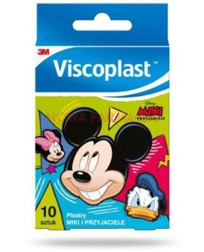 Viscoplast Miki i przyjaciele plastry dla dzieci 10 sztuk