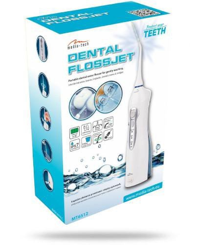 Media-Tech Dental FlossJet MT 6512 Irygator 1 sztuka  whited-out