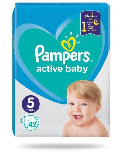 Pampers Active Baby 5 pieluchy 11-16 kg 42 sztuki