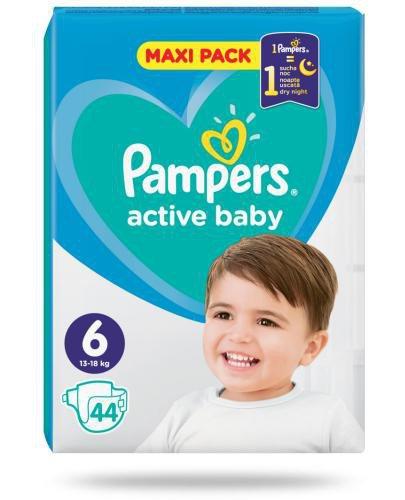 Pampers Active Baby 6 pieluchy 13-18 kg 44 sztuki