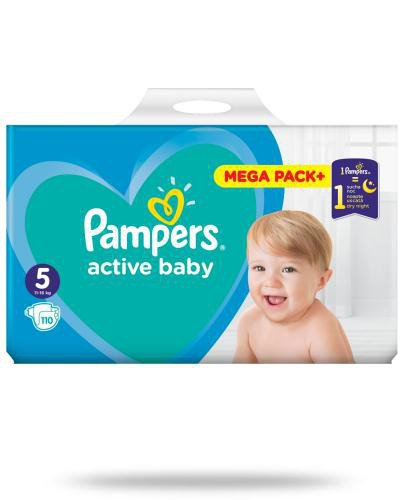 Pampers Active Baby 5 pieluchy 11-16 kg 110 sztuk
