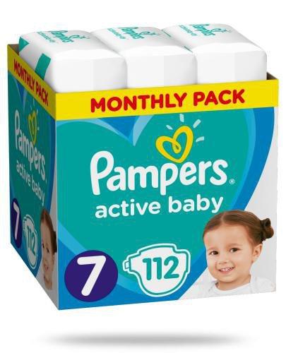 Pampers Active Baby 7 pieluchy 15+ kg 112 sztuk