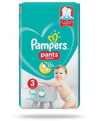 Pampers Pants 3 pieluchomajtki 6-11 kg 54 sztuki