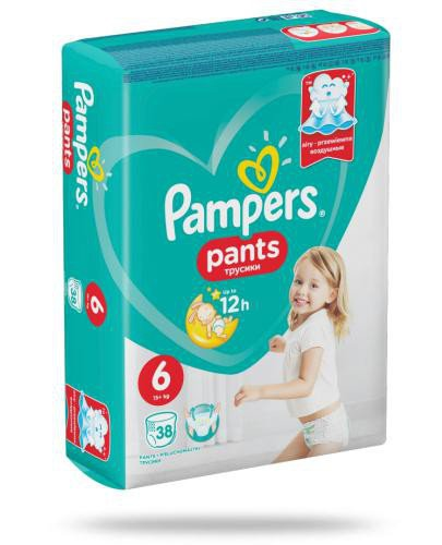 Pampers Pants 6 pieluchomajtki 15+ kg 38 sztuk