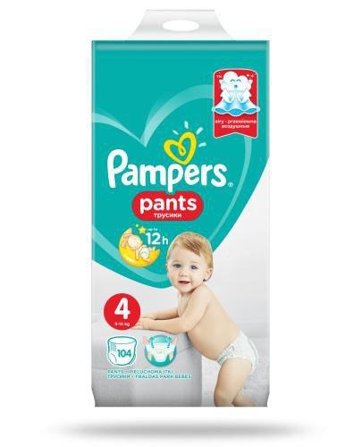 Pampers Pants 4 pieluchomajtki 8-14 kg 104 sztuki