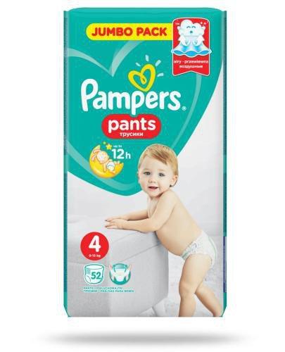 Pampers Pants 4 pieluchomajtki 9-15 kg 52 sztuki
