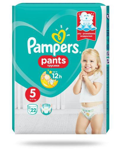 Pampers Pants 5 pieluchomajtki 12-17 kg 22 sztuki