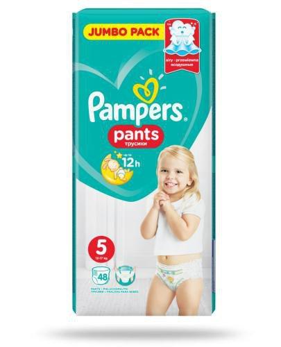 Pampers Pants 5 pieluchomajtki 12-17 kg 48 sztuk