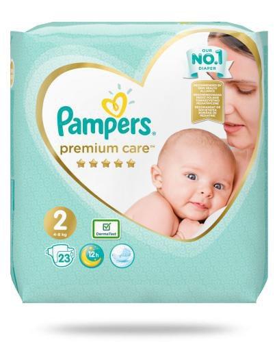 Pampers Premium Care 2 pieluchy 4-8 kg 23 sztuki