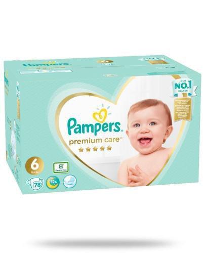 Pampers Premium 6 pieluchy 13+ kg 78 sztuk