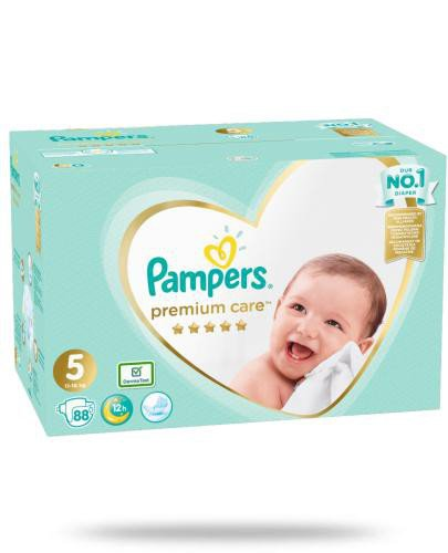 Pampers Premium Care 5 pieluchy 11-16 kg 88 sztuk