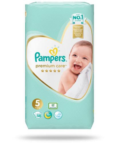 Pampers Premium Care 5 pieluchy 11-16 kg 58 sztuk