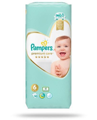 Pampers Premium Care 6 pieluchy 13+ kg 50 sztuk