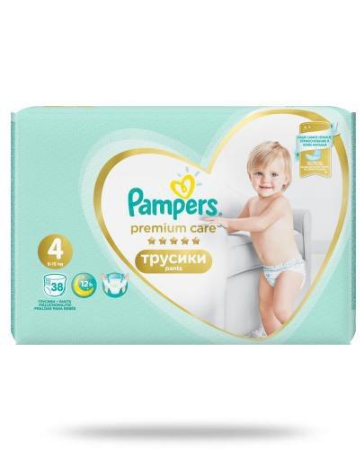 Pampers Premium Care Pants 4 pieluchomajtki 9-15 kg 38 sztuk