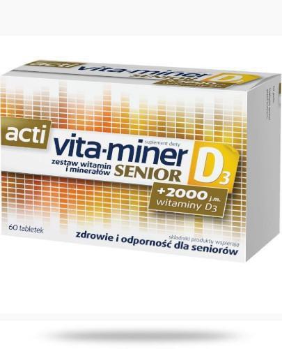 Acti Vita-Miner Senior D3 60 tabletek