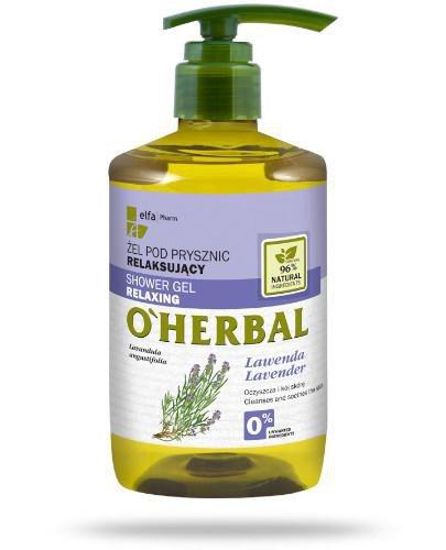 O'Herbal Relaksujący żel pod prysznic z ekstraktem z lawendy 750 ml