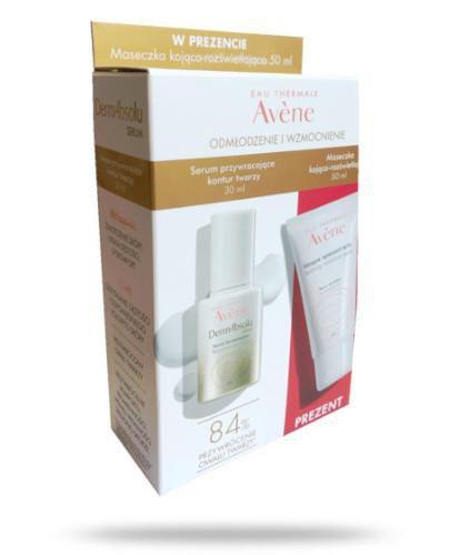 Avene DermAbsolu serum przywracające kontur twarzy 30ml + maseczka kojąco-rozświetlają...