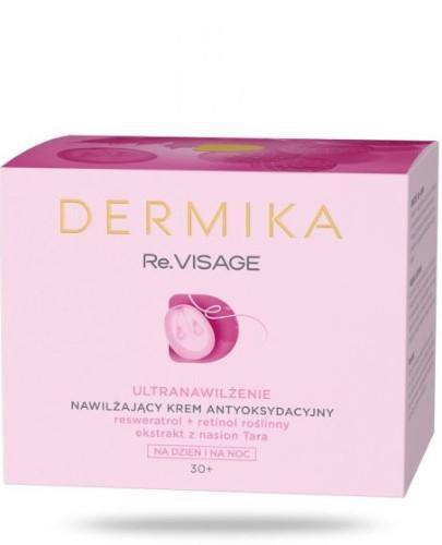 Dermika Re.VISAGE 30+ nawilżający krem antyoksydacyjny na dzień i noc 50 ml