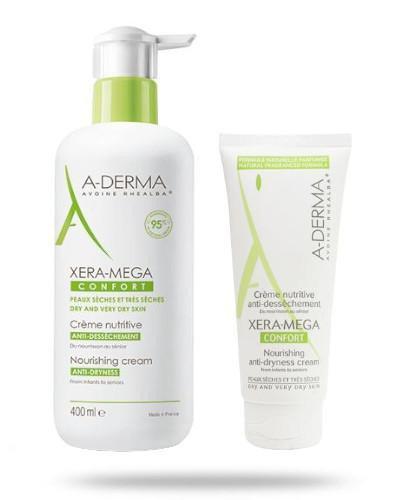 A-Derma Xera-Mega Comfort Odżywczy krem 400 ml + 100 ml [ZESTAW]