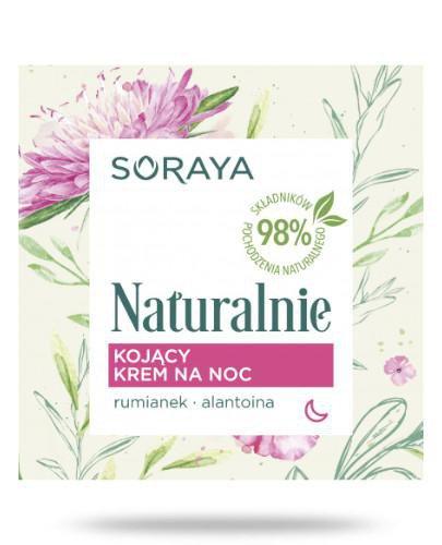Soraya Naturalnie Kojący krem na noc 50 ml