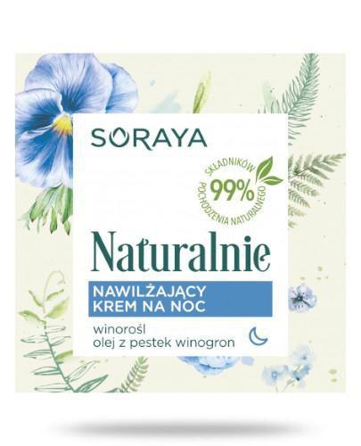 Soraya Naturalnie Nawilżający krem na noc 50 ml