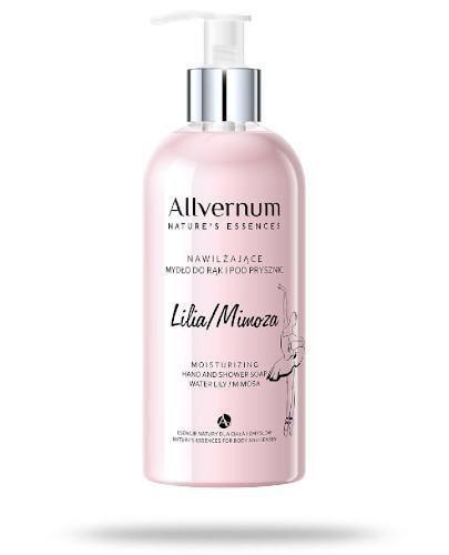 Allvernum nawilżające mydło do rąk i pod prysznic lilia - mimoza 300 ml