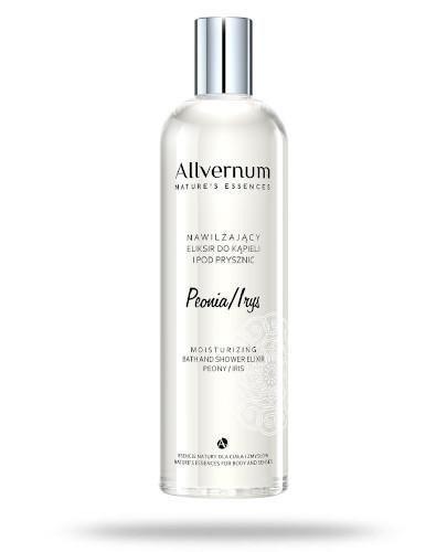 Allvernum nawilżający eliksir do kąpieli peonia - irys 500 ml