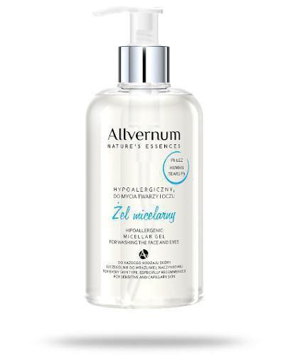 Allverne hypoalergiczny zel micelarny do mycia twarzy i oczu 300 ml