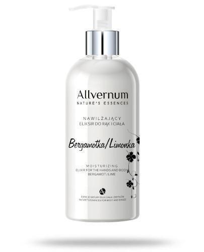 Allvernum nawilżający eliksir do rąk i ciała bergamotka - limonka 300 ml  + Mydło kor...