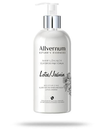 Allvernum nawilżający eliksir do rąk i ciała lotos - jaśmin 300 ml