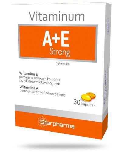 Vitaminum A + E Strong 30 kapsułek