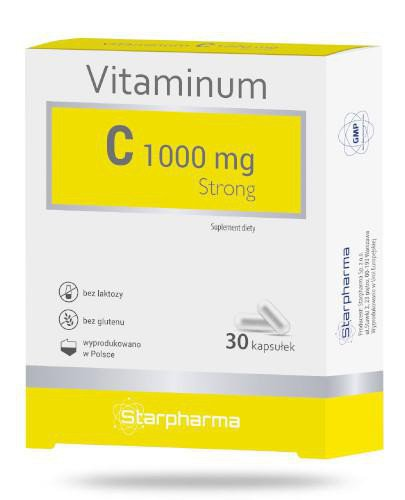 Vitaminum C 1000mg strong 30 kapsułek