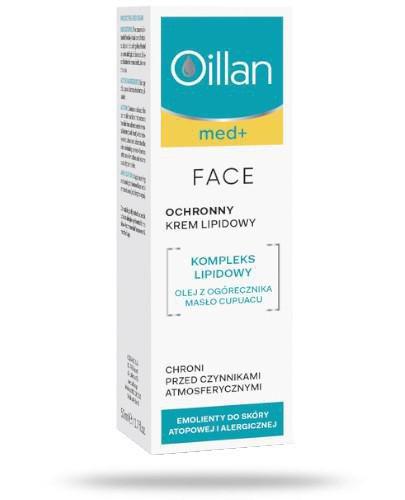 Oillan Med+ Ochronny krem lipidowy 50 ml