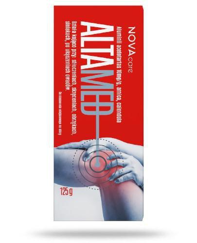 NovaMed Altamed żel na stłuczenia, obrzęki i ukąszenia 125 g