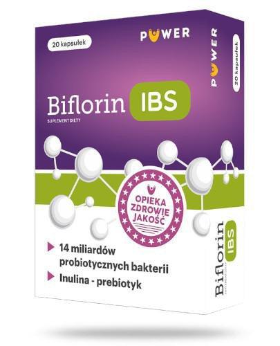 Puwer Biflorin IBS 20 kapsułek