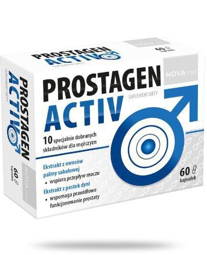 Novamed Prostagen Activ 60 kapsułek