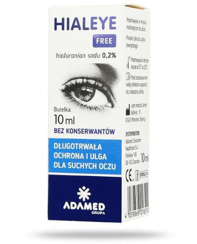 Hialeye Free 0,2% krople 10 ml