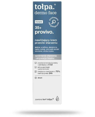 Tołpa Dermo Face 35+ provivo nawilżający krem przeciw starzeniu 40 ml