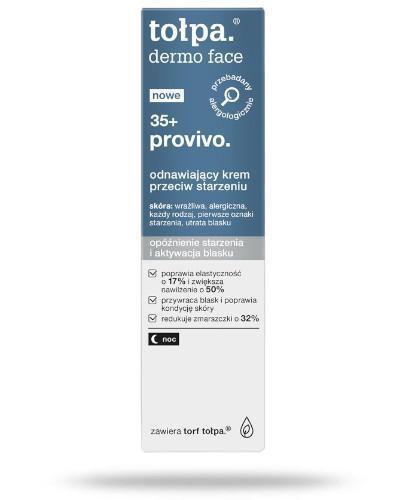 Tołpa Dermo Face 35+ provivo odnawiający krem przeciw starzeniu 40 ml