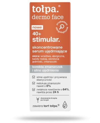 Tołpa Dermo Face 40+ stimular skoncentrowane serum ujędrniające 20 ml [KUP 2 produkt...