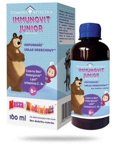 Domowa Apteczka ImmunoVit Junior 160 ml [Data ważności 30-09-2021]