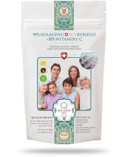 Kolagen NCN Rodzina 90% kolagenu + 10% witamina C proszek 100 g