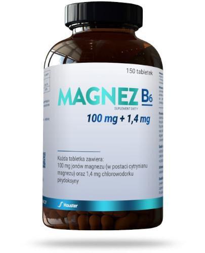 Hauster Magnez B6 150 tabletek
