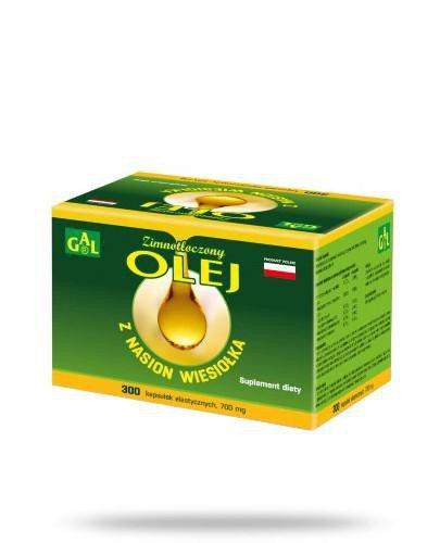 GAL Olej zimnotłoczony z nasion wiesiołka 300 kapsułek
