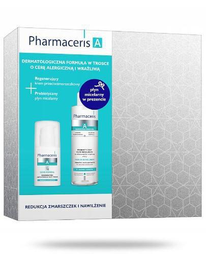 Pharmaceris A Regenerujący krem przeciwzmarszczkowy 30 ml + Probiotyczny płyn micelarn...