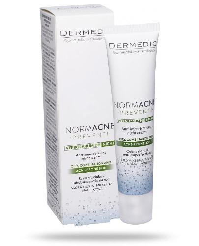 Dermedic Normacne Preventi krem niwelujący niedoskonałości na noc 40 ml