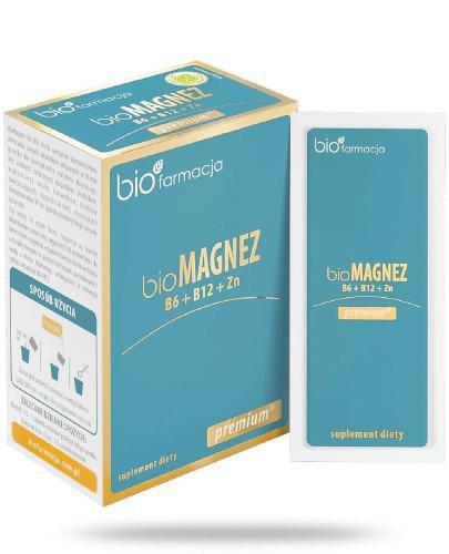 Biofarmacja BioMagnez B6 Premium 20 saszetek
